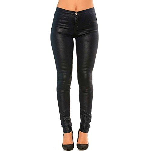 Effet Slim Jeans Line Pantalon Wear Miss huil Bleu TqBvYp