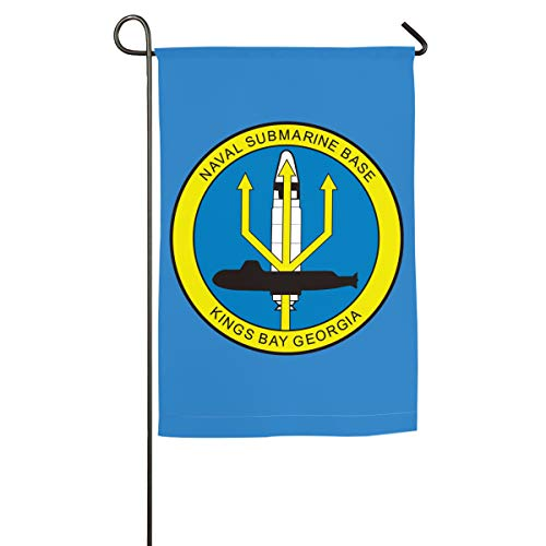 DAHWY Naval Submarine Base Kings Bay, Georgia Military 12 X 18 Inch Outdoor Flag Symbolizing and Guarding The Family