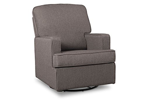 Delta-Children-Henry-Nursery-Glider-Swivel-Rocker-Chair-French-Grey