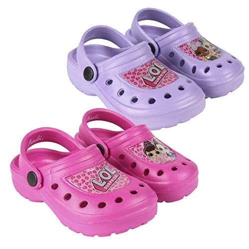 Cerdá Zuecos LOL, Zapatos de Playa y Piscina Niñas
