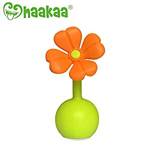Haakaa Stopper Manual Breast Pump Silicone Flower Stopper 100% Food Grade  Silicone BPA PVC