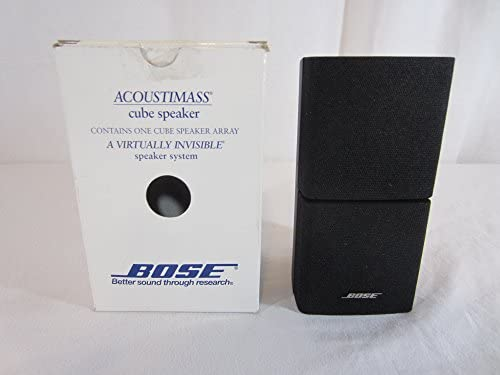 Bose Acoustimass Direct/Reflecting Speaker Black