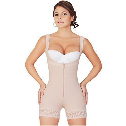 1057c9c29f Salome 0217 Full Body Shaper with Zipper for Women Tummy Control Shapewear  Fajas Reductoras y Moldeadoras