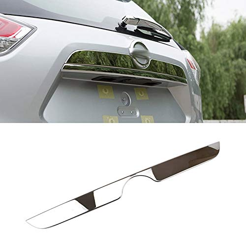 - AUTOXBERT Fits for Nissan Rogue x-Trail t32 2014 2015 2016 2017 2018 2019 Chrome Rear Trunk Cargo Lid Cover Tailgate Door Trim Hatch Molding Garnish