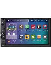 hizpo 2din Android 10 universele autoradio 7 inch multimedia speler 64 GB + 4 GB Car GPS navigatie Bluetooth WiFi hotspot DAB + subwoofer USB SD