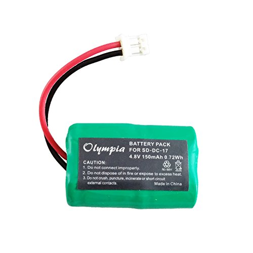 150mAh Ni-MH Battery SportDog FR200, SD-400, SD-800