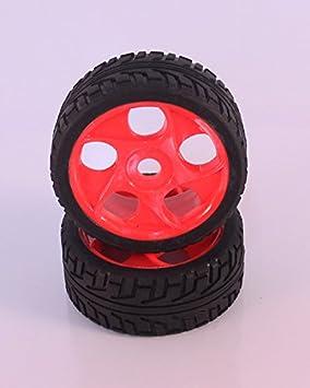 HSP - Ruedas Coche RC Buggy 1/8 Universales Naranjas - SST180027: Amazon.es: Juguetes y juegos