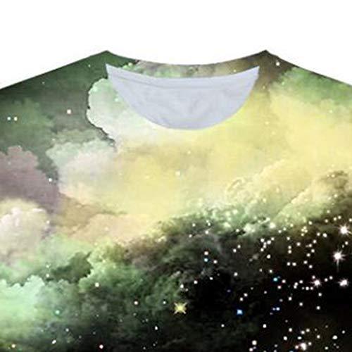 Men 3D Printing T-Shirt,Jchen Summer Mens Teen Boys Short Sleeve 3D Wolves Print Casual Pullover Tees Shirt Tops (M/US/EU Size:S, Black) by Jchen Men T-shirt (Image #4)