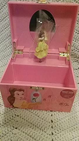 Disney Beauty and the Beast Belle Musical Jewelry Box (Beast Jewelry)