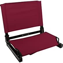 Stadium Seat Chairs for Benches & Bleachers - by Threadart