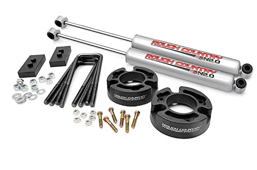 Rough Country - 570.20 - 2.5-inch Suspension Leveling Lift Kit w/ Premium N2.0 Shocks (Rough Country Suspension Lift)