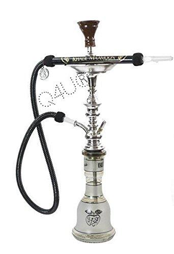 Khalil Mamoon KM Shisha Hookah Genuine Egyptian sheesha pipe Cafe Style...