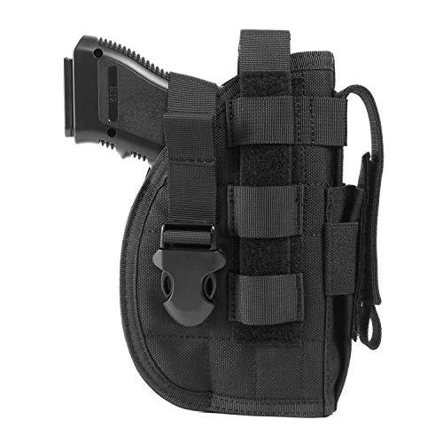 OneTigris Etui/Holster à Pistolet Molle Tactique Militaire avec Porte Chargeur pour 1911 45 92 96 Glock 1