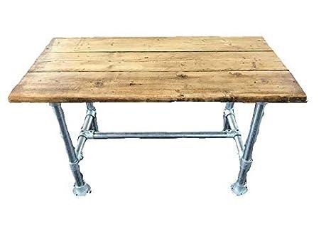 Scrivania Vintage Legno : Zen urban style scrivania in legno vintage retrò fatta a