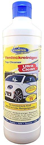 CabrioVerdeck & Planen Reiniger Ultra Clean 500ml