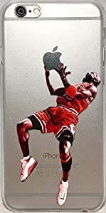 iPhone 6 Plus/6s Plus Basketball Clear Clip-On Case With Your Favorite Players, Past and Present