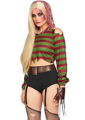 Leg Avenue Women's 4 Pc Dream Killer Costume,