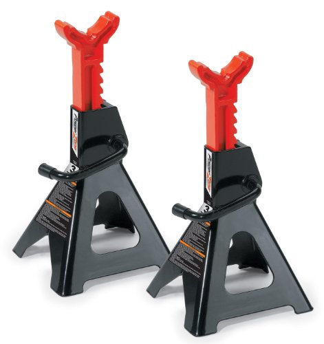 Powerzone 380036 3 Ton Steel Jack Stand - 1 Pair