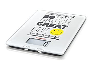 Soehnle 6883-Bascula Digital de Cocina, Smiley do Small Things