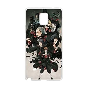 Naruto Samsung Galaxy Note 4 Cell Phone Case White yyfabd-250354