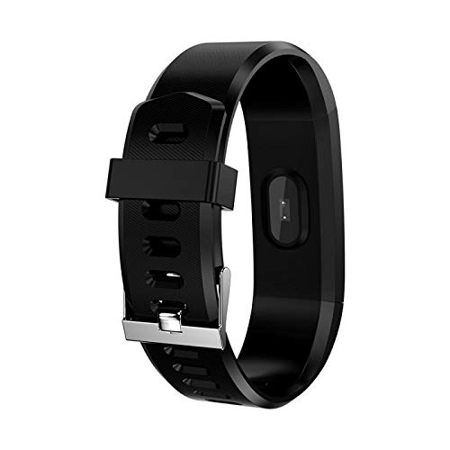 SM NATURES Smart Band Fitness Tracker Watch D 115 with Activity Waterproof Body Functions Like Steps Calorie Counter, Blood Pressure, Monitor LED Touchscreen