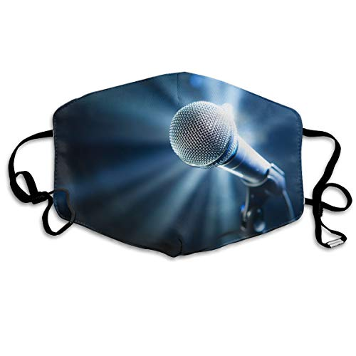 YUANSHAN Dust Mask Microphone Singing Outdoor Mouth Mask Anti Dust Mouth Mask for Man Woman]()