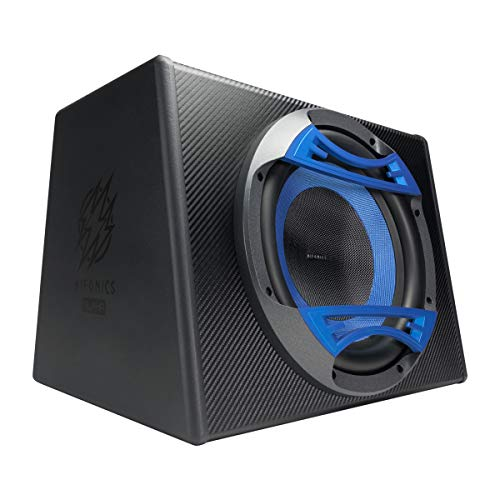 Hifonics Alpha HA112A – Powered 800 Watt, 12 Inch Subwoofer System, Glass Cone, Powerful Sound, Class D, High and Low Input