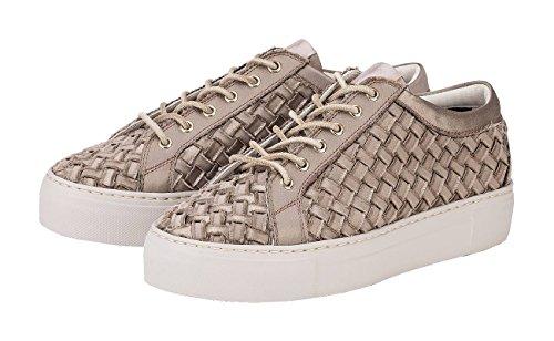 Eu Sneaker Donna Beige Agl 39 D925075 Sabbia x10FSBqfcw