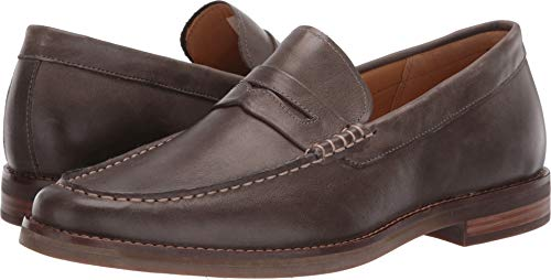 (Sperry Top-Sider Gold Cup Exeter Penny Loafer Men 12 Grey)