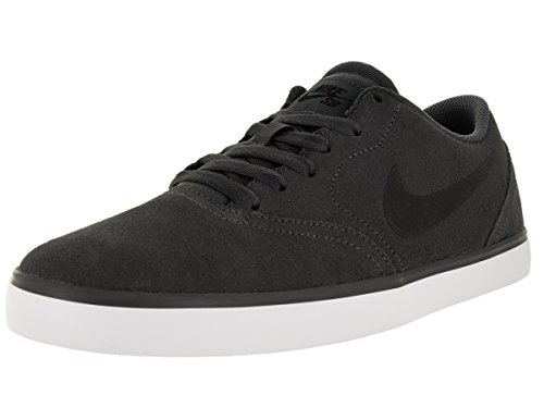 Nike Herren SB Check Skaterschuhe Dark Grey Black White 011