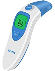 Forehead and Ear Thermometer Digital 3 in 1 Professional Infrared Medical Thermometer for Baby, Children, Kids, Adults, Object,Fever Indicator