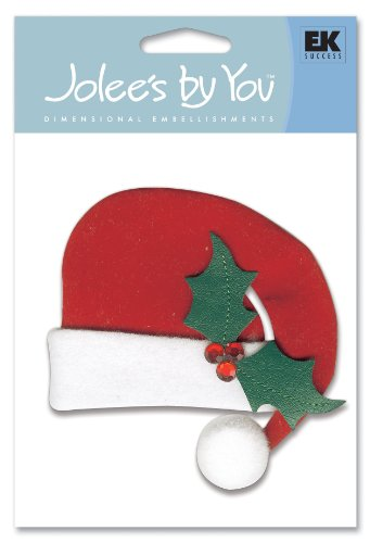 Jolee's By You Santa Hat Dimensional ()