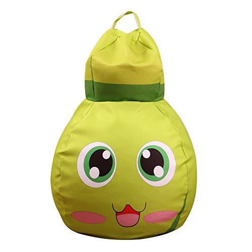 (Gbell Cute Christmas Stuffed Toy Storage Bean Bag, Kids Cartoon Soft Pouch Animal Bee Fabric Chair,Large Soft Animal Organizer for Girls Boys Teddies,Dolls,Blankets,Emoji Pillows,Nursery Play,26 inch)