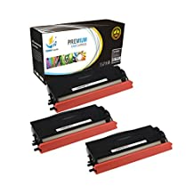 Catch Supplies TN580 TN-580 Premium Black 3-Pack Replacement Toner Cartridge Compatible with Brother HL-5240 5250 5280, MFC-8460N 8660DN 8860N 8870DN, DCP-8060 8065 8065DN Printers |7,000 Yield|