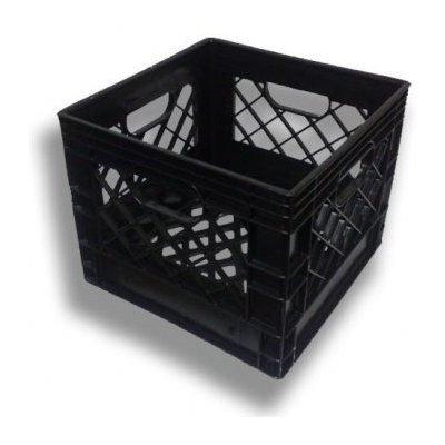 16qt (4-1 Gallon) New Plastic Milk Crates 4 Pack.