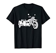 Sidecar Motorcycle Vintage 3-Wheel Motorbike Artwork Style is available for men and women.