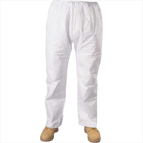 Seidman Associates TY-TY350-2XL Tyvek Pants with Elastic Waist - XXL