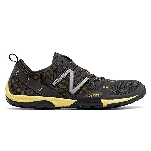 New Balance Men's MT10V1 Minimus Trail Running Shoe, Grey/Ye