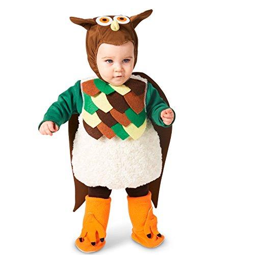 Lil' Hoot Owl Infant Costume (White Owl Baby Costume)