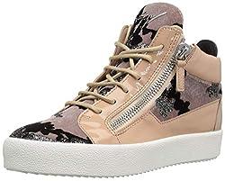 Giuseppe Zanotti Women S Rw80043 Sneaker Cipria 10 B Us