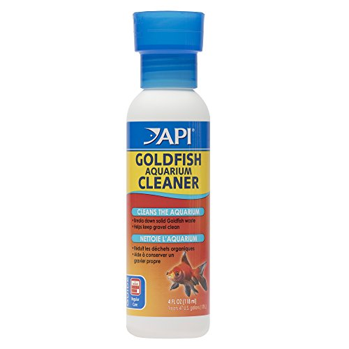 API GOLDFISH AQUARIUM CLEANER Aquarium Cleaner 4-Ounce Bottle