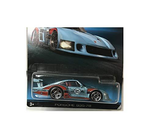 (Rare Bad Card Porsche 935-78 Light Blue Wheels Porsche Series HA9 Diecast Toy Quick Arrive)