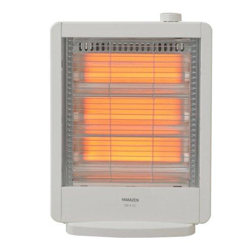 山善(YAMAZEN) 電気ストーブ(990W/660W/330W 3段階切替) ホワイト DS-K10(W) B009ELFYF2