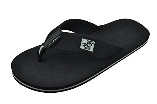 Men's Panama Jack SHOREBREAK Casual Soft-Brushed Beach Flip Flop