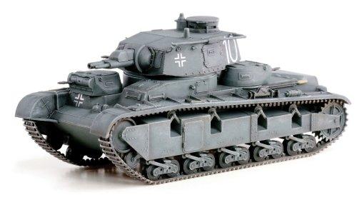 1/72 WW.II ドイツ軍 ノイバウファールツォイク多砲塔戦車(3-5号車) ドイツ1940 DRR60597