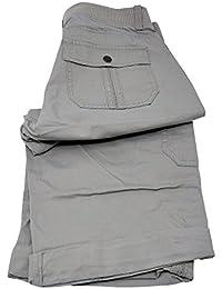 Women's Relaxed Fit Skye Knit Waist Cargo Capri Pant