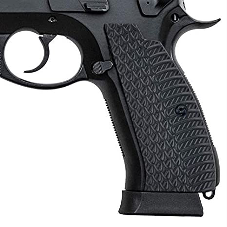 Guuun CZ 75 SP-01 Grips Snake OPS Texture Slim Aggressive Panels Full Size  SP01 Shadow Tactical CZ Grips, G10 Pistol Grips