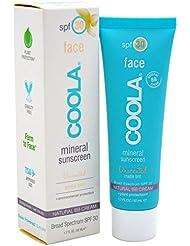 COOLA Mineral Suncare Unscented Matte Tint Face Sunscreen, SPF 30, 1.7 Fl Oz