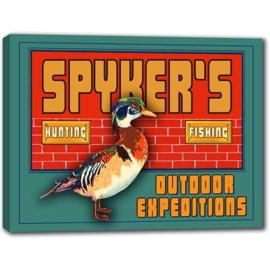 spykers-outdoor-expeditions-stretched-canvas-sign-16-x-20