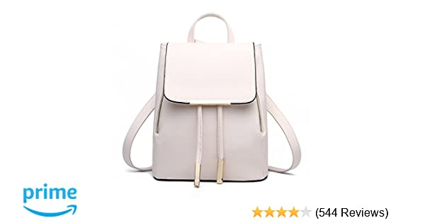Amazon.com  Z-joyee Casual Purse Fashion School Leather Backpack Shoulder  Bag Mini Backpack for Women   Girls 2105cb38be7b9